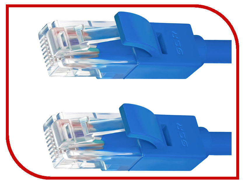 Сетевой кабель Greenconnect UTP 24AWG cat.5e RJ45 T568B 3m Blue GCR-50681 сетевой кабель greenconnect utp 24awg cat 5e rj45 t568b 2m black gcr 50675