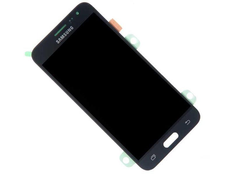 цена Дисплей RocknParts Zip для Samsung Galaxy J3 2016 SM-J320F Black