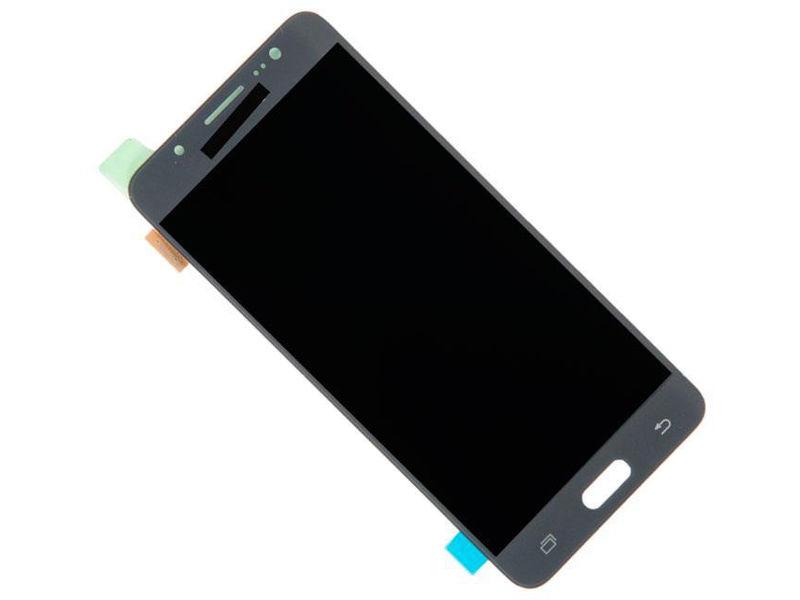 Дисплей RocknParts Zip для Samsung Galaxy J5 2016 SM-J510F/DS Black смартфон samsung galaxy j5 2016 16gb black