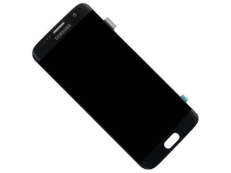 Дисплей RocknParts Zip для Samsung Galaxy S7 Edge DS SM-G935FD Black Onyx