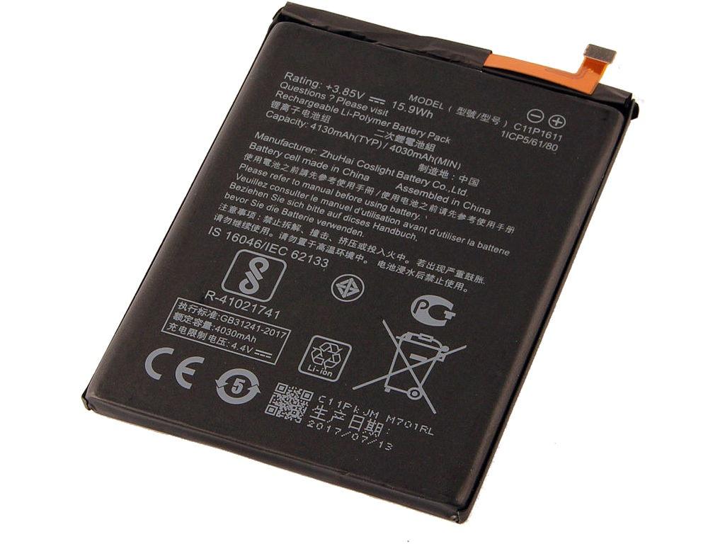 Аккумулятор RocknParts Zip для Asus Zenfone 3 Max ZC520TL
