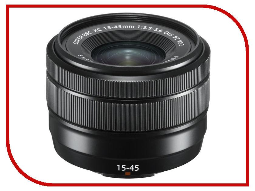 Объектив Fujifilm XC 15-45mm f/3.5-5.6 OIS PZ Black xc e8x8yr xinje xc series xc plc extension module have in stock fast shipping