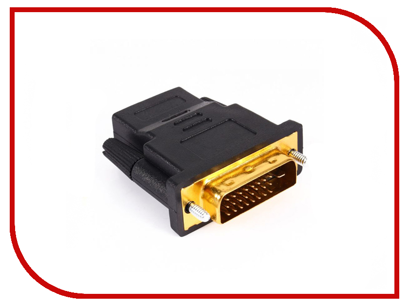 Аксессуар Greenconnect DVI-I - HDMI 19F GCR-CV105i аксессуар greenconnect mini hdmi 19m 19f gc cvm303