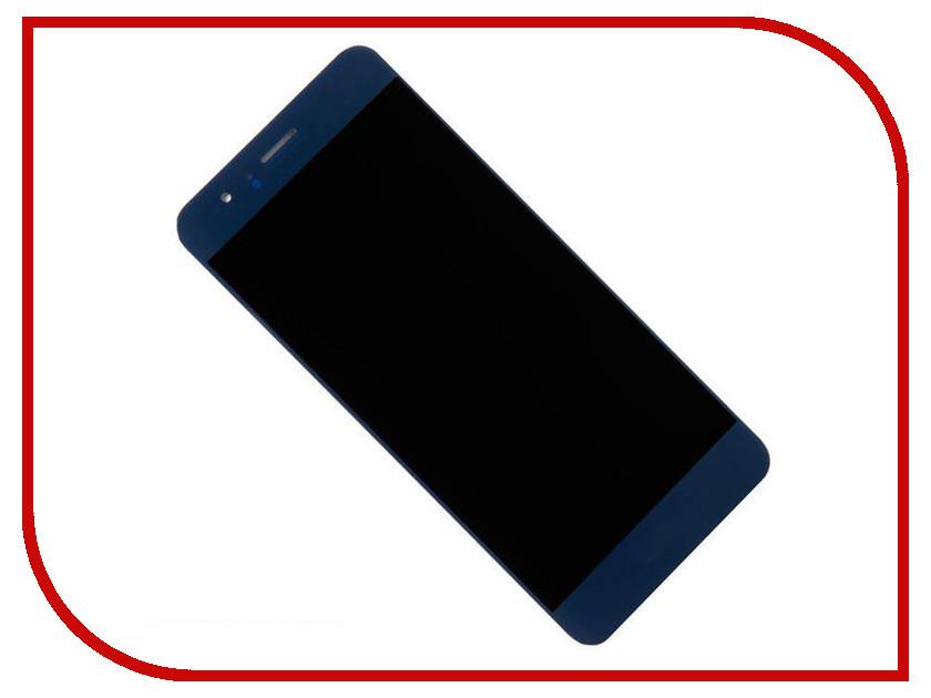 Дисплей Zip для Huawei Honor 8 Blue толстовка классическая picture organic basement ml zip blue