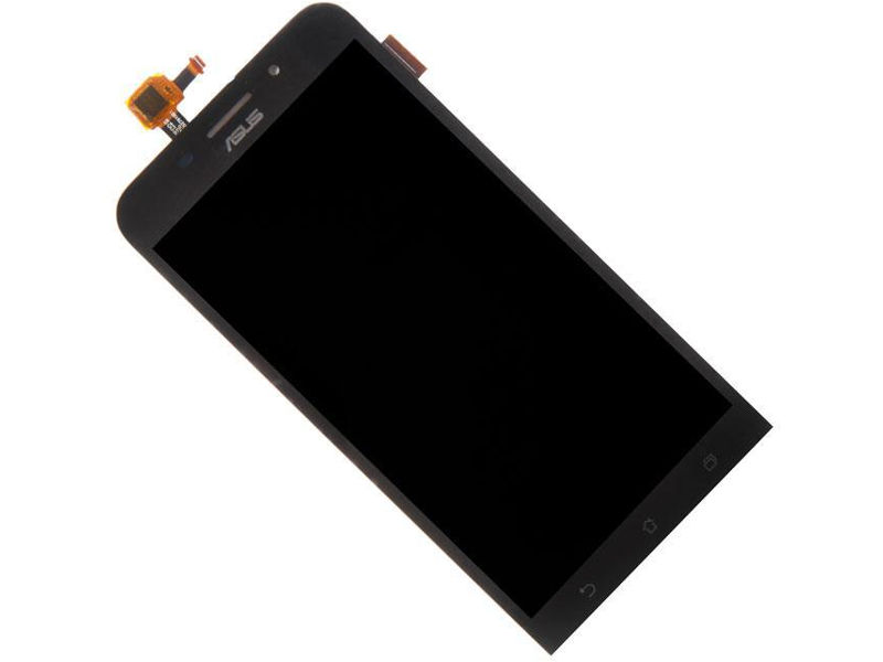 Дисплей RocknParts Zip для ASUS ZenFone Max ZC550KL Black аккумулятор rocknparts zip для asus zenfone 2 laser ze500kl c11p1428 513407 page 6