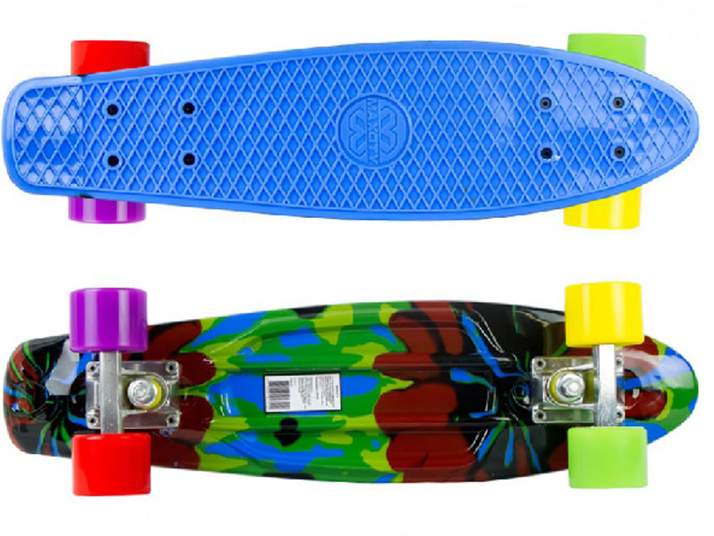 Скейт Maxcity MC Plastic Board SMASH small