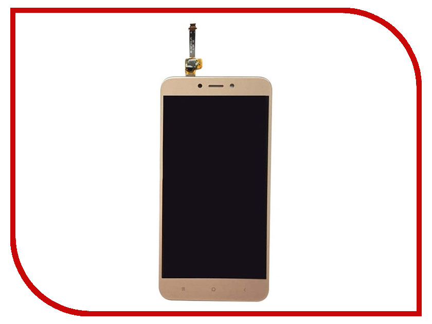 Дисплей RocknParts Zip для Xiaomi Redmi 4X Gold дисплей rocknparts zip для xiaomi redmi 4x black 537684