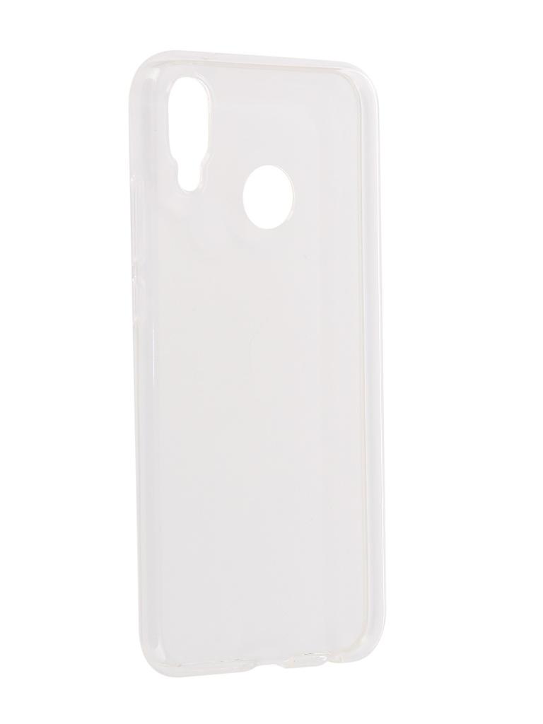 Аксессуар Чехол iBox для Huawei P20 Lite Crystal Silicone Transparent аксессуар чехол для honor 8a ibox crystal silicone transparent ут000017081