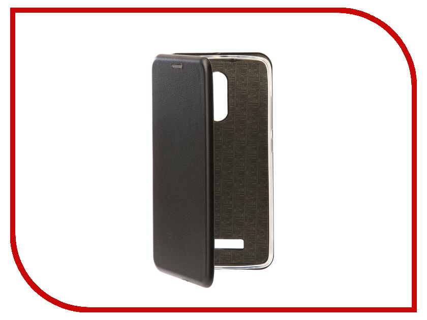 Аксессуар Чехол-книга Xiaomi Redmi Note 3 / Note 3 Pro Innovation Book Silicone Black 11440