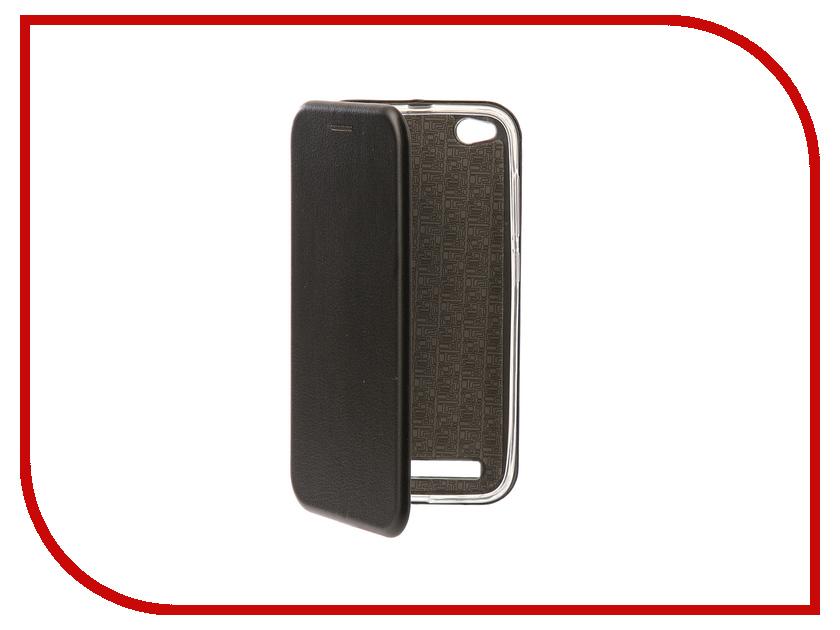 Аксессуар Чехол-книга для Xiaomi Redmi 5A Innovation Book Silicone Black 11441