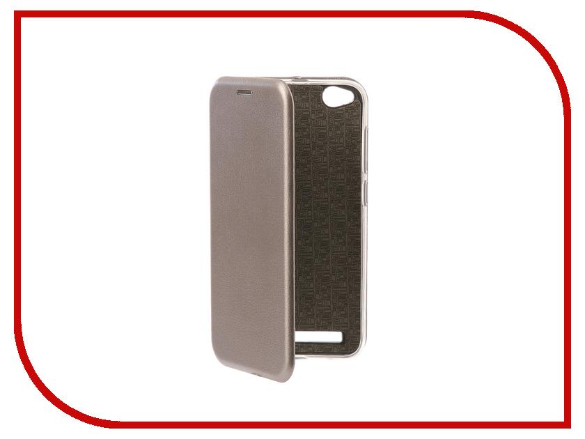 Аксессуар Чехол-книга для Xiaomi Redmi 5A Innovation Book Silicone Silver 11442