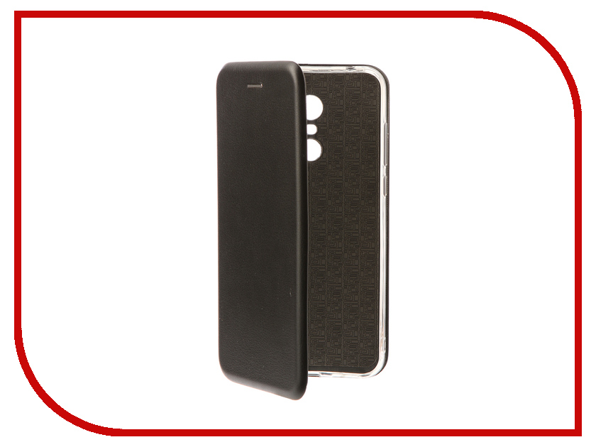 Аксессуар Чехол-книга для Xiaomi Redmi 5 Plus / Redmi Note 5 Innovation Book Silicone Black 11445 leaf style magnetic leather case for xiaomi redmi 5 plus with holder