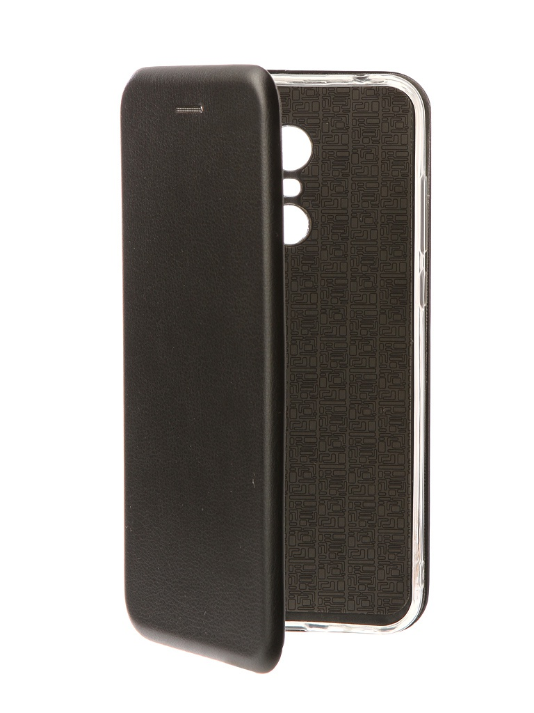 Аксессуар Чехол-книга Innovation для Xiaomi Redmi 5 Plus / Redmi Note 5 Book Silicone Black 11445 аксессуар чехол для xiaomi redmi note 5 pro 2018 innovation black 14307