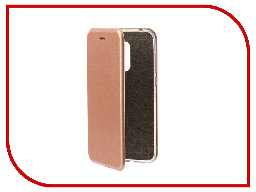 Аксессуар Чехол-книга для Xiaomi Redmi 5 Plus / Redmi Note 5 Innovation Book Silicone Rose Gold 11447 leaf style magnetic leather case for xiaomi redmi 5 plus with holder