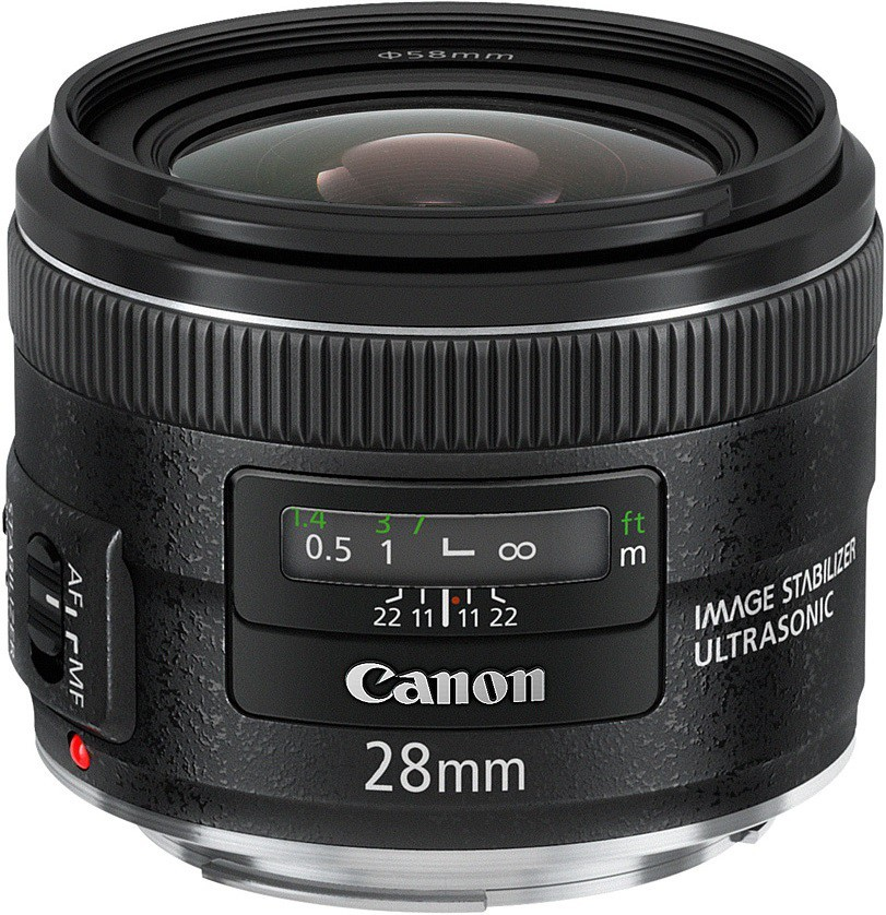 Объектив Canon EF 28 mm F/2.8 IS USM