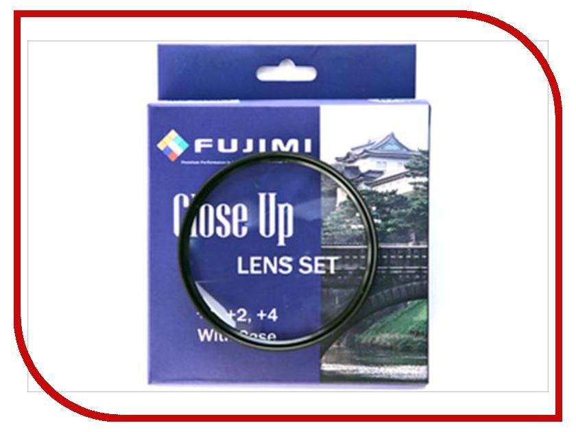 Светофильтр Fujimi Close UP Set (+1, 2, 4) 82mm - набор макролинз