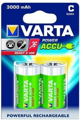 Аккумулятор C - Varta 3000mAh Power Accu (2 штуки) 56714