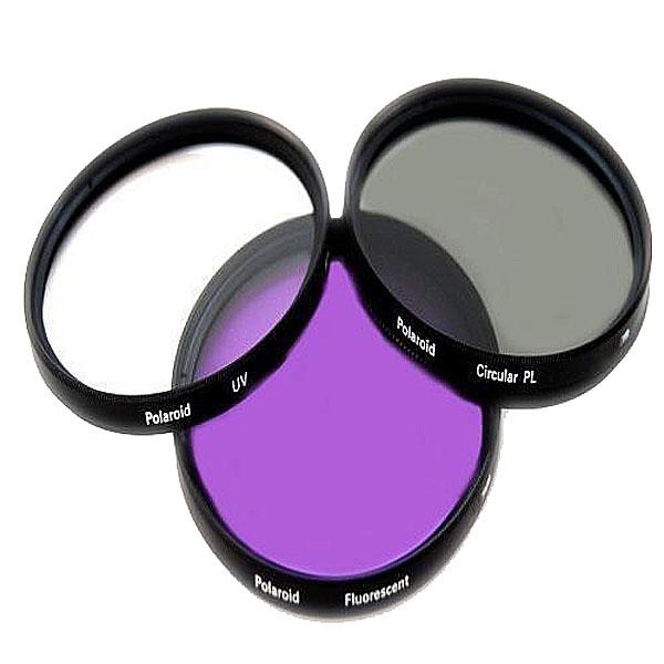 Светофильтр Polaroid UV-CPL-FLD 58mm - набор фильтров PL3FIL58