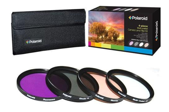 Светофильтр Polaroid UV-CPL-FLD-WARMING 77mm - набор фильтров PL4FIL77