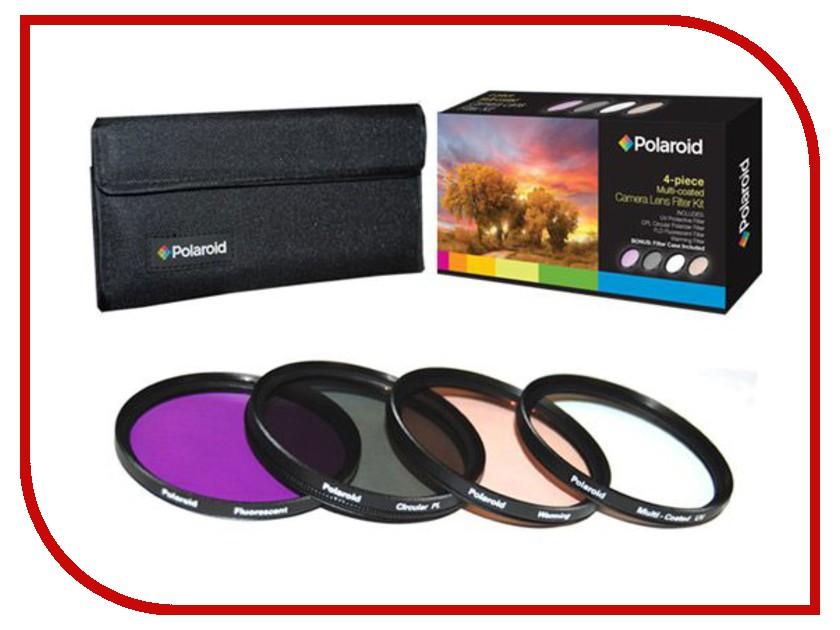 Светофильтр Polaroid UV-CPL-FLD-WARMING 72mm - набор фильтров PL4FIL72<br>