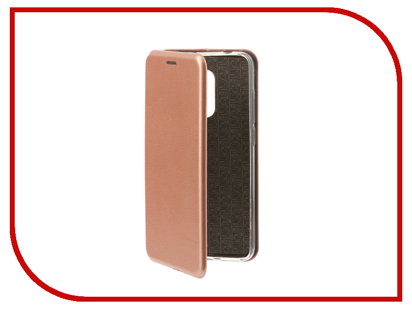 Аксессуар Чехол-книга для Xiaomi Redmi 5 Innovation Book Silicone Rose Gold 11451