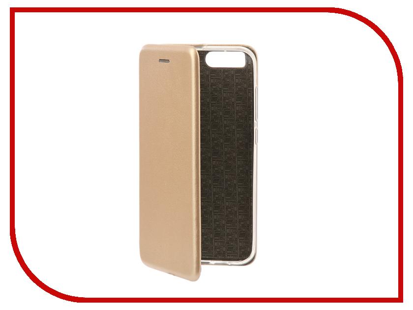 Аксессуар Чехол-книга Xiaomi Mi6 Innovation Book Silicone Gold 11458 матовый защитный чехол для xiaomi mi 6 розово золотой