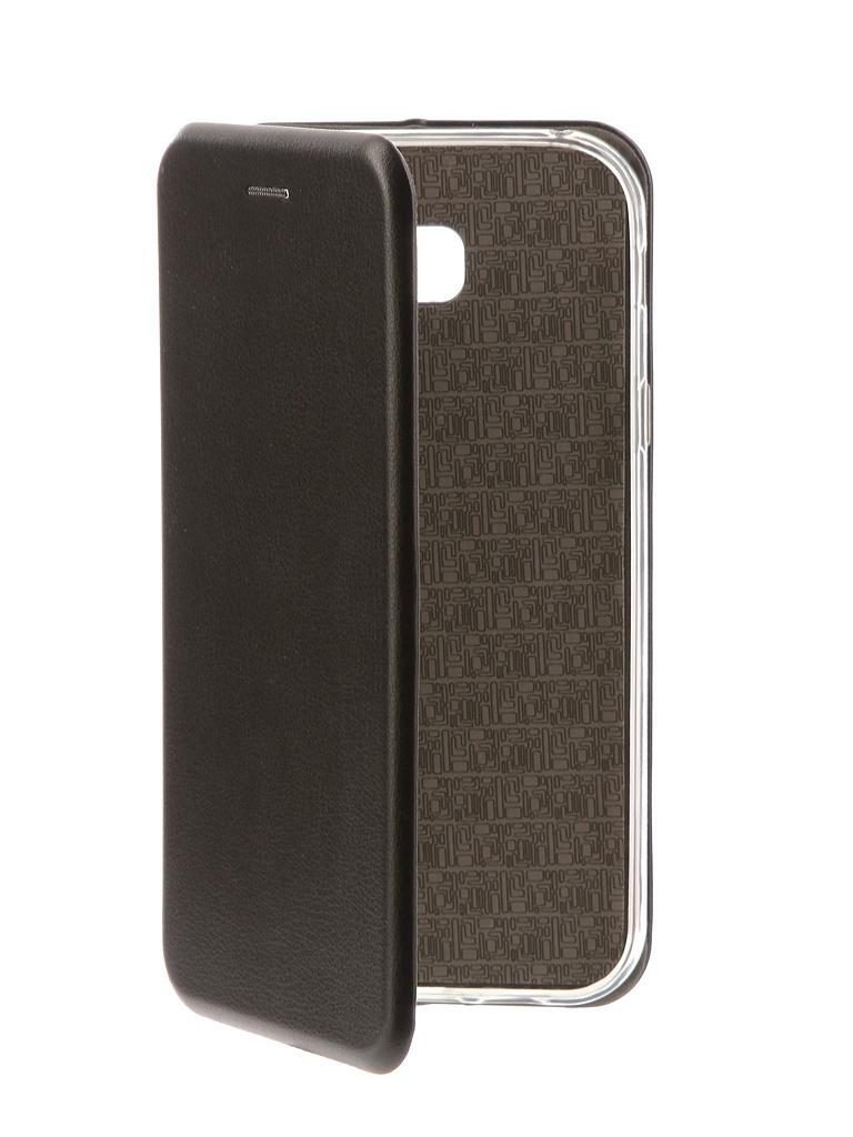 все цены на Аксессуар Чехол-книга Innovation Book Silicone для Samsung Galaxy A7 2017 Black 11463 онлайн