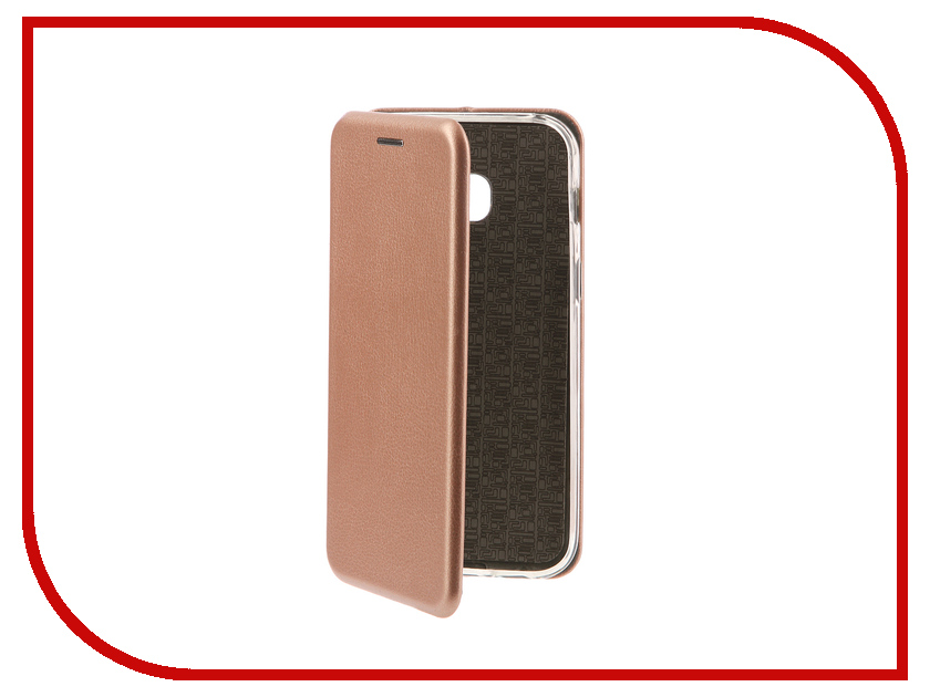 Аксессуар Чехол-книга Samsung Galaxy A3 2017 Innovation Book Silicone Rose Gold 11467 аксессуар чехол samsung galaxy a7 2017 with love moscow silicone russia 5090