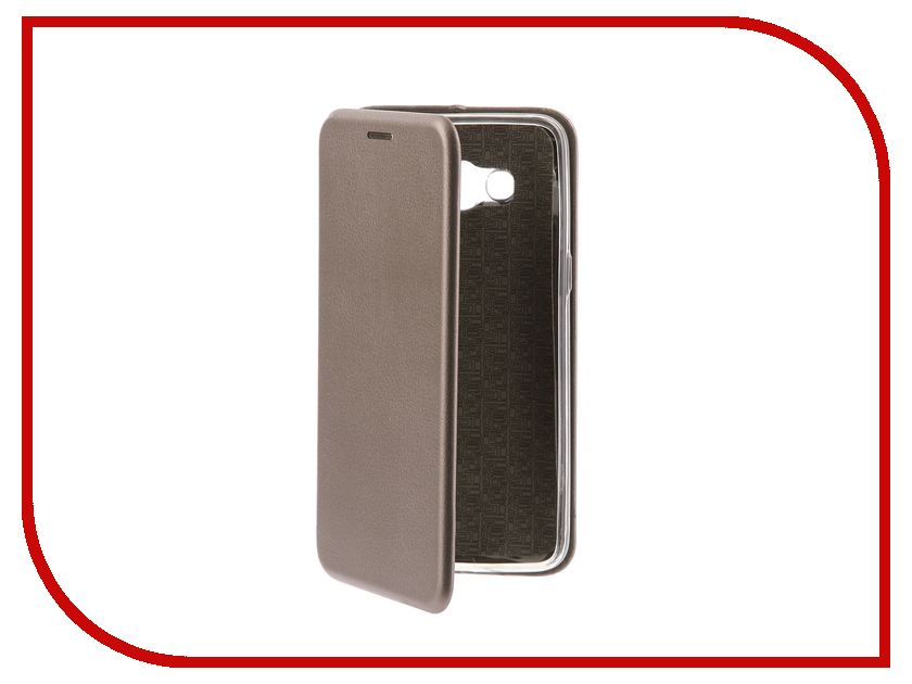 Аксессуар Чехол-книга для Samsung Galaxy J2 2018 Innovation Book Silicone Silver 11475 аксессуар чехол для samsung galaxy j2 2018 innovation book silicone red 12175