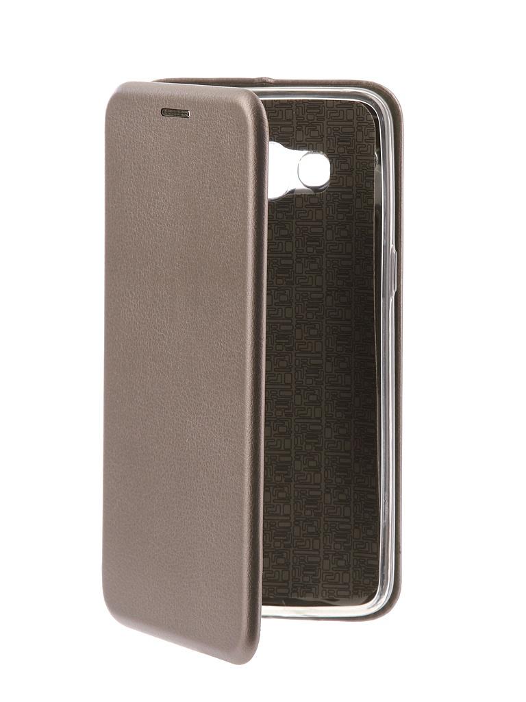 Чехол-книга Innovation для Samsung Galaxy J2 2018 Book Silicone Silver 11475