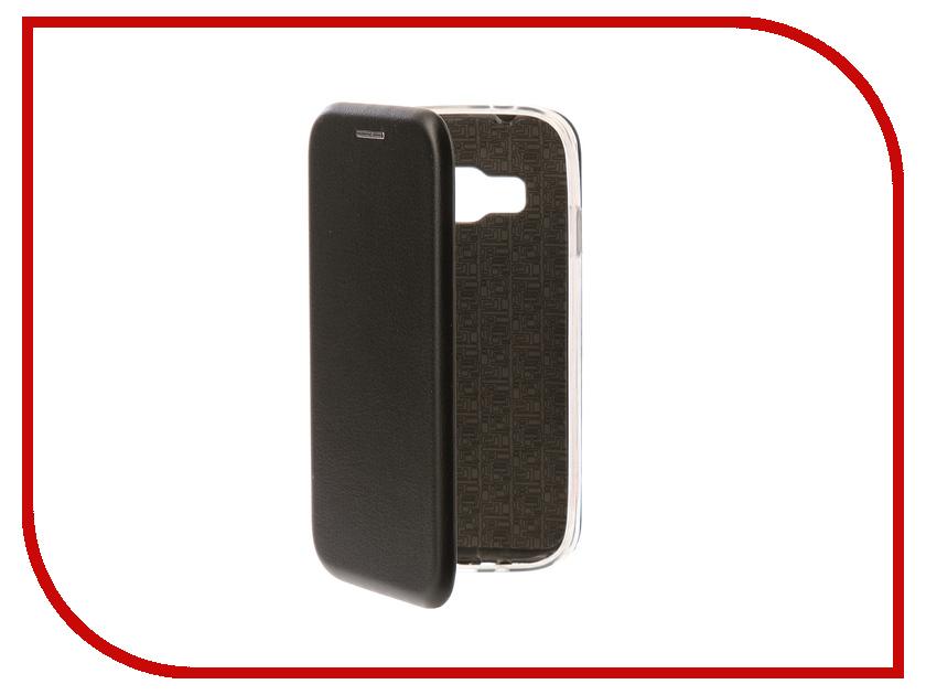 Аксессуар Чехол-книга Samsung Galaxy J1 Mini Prime Innovation Book Silicone Black 11477 dekker для samsung galaxy j1 2016 white