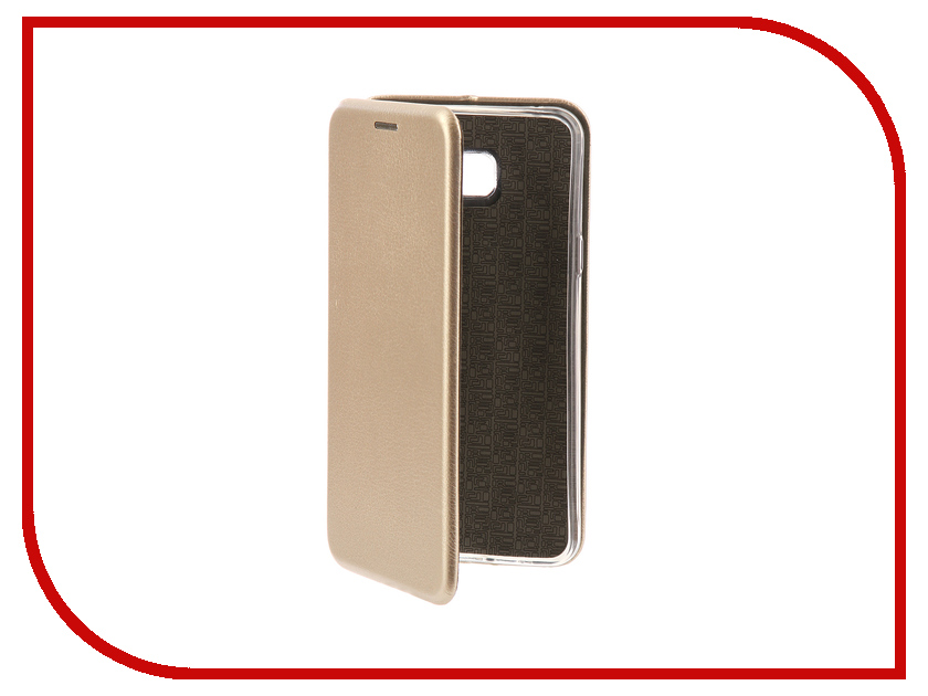 Аксессуар Чехол-книга Samsung Galaxy A5 2016 Innovation Book Silicone Gold 11483 аксессуар чехол samsung galaxy a7 2017 with love moscow silicone russia 5090