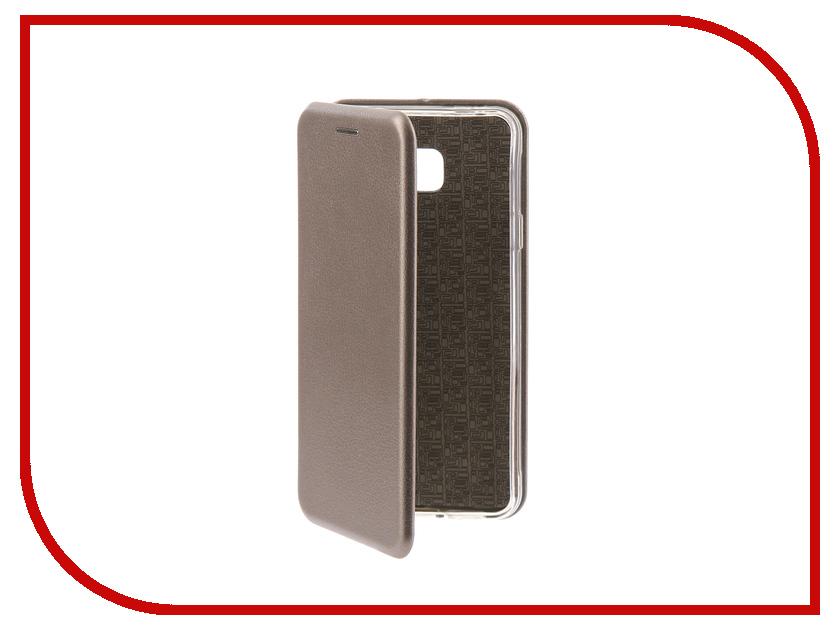Аксессуар Чехол-книга Samsung Galaxy A3 2016 Innovation Book Silicone Silver 11486 аксессуар чехол samsung galaxy a3 2017 cojess tpu 0 3mm transparent