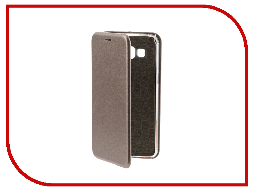 Аксессуар Чехол-книга Samsung G530H Galaxy Grand Prime Innovation Book Silicone Silver 11490 аксессуар чехол samsung galaxy j2 prime grand prime 2016 df scase 34