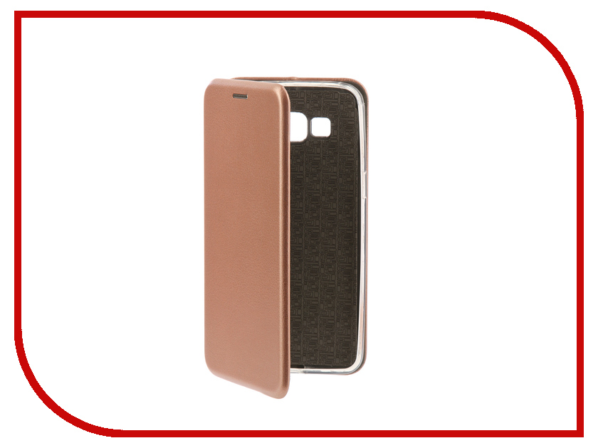 Аксессуар Чехол-книга для Samsung G530H Galaxy Grand Prime Innovation Book Silicone Rose Gold 11491 аксессуар чехол для samsung galaxy a5 2017 innovation silicone coral 10646