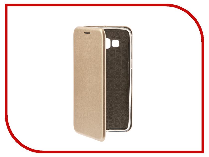 Аксессуар Чехол-книга Samsung G530H Galaxy Grand Prime Innovation Book Silicone Gold 11492 аксессуар чехол samsung galaxy j2 prime grand prime 2016 df scase 34