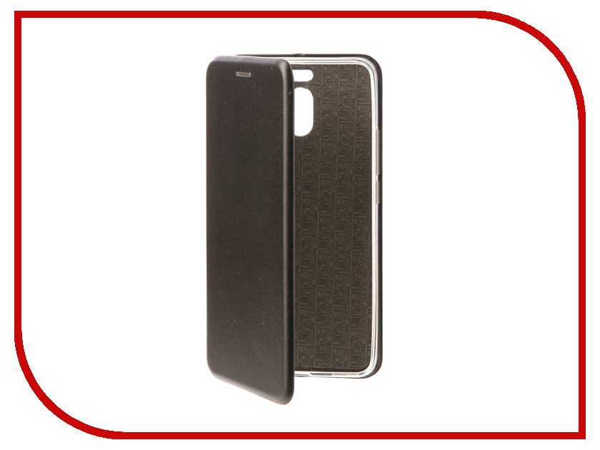 Аксессуар Чехол-книга для Meizu M6 Note Innovation Book Silicone Black 11493 аксессуар чехол meizu m5 note with love moscow silicone peace 6747
