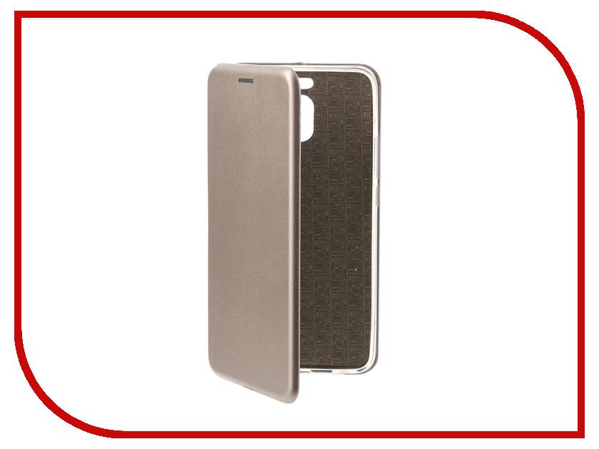 Аксессуар Чехол-книга Meizu M6 Note Innovation Book Silicone Silver 11494