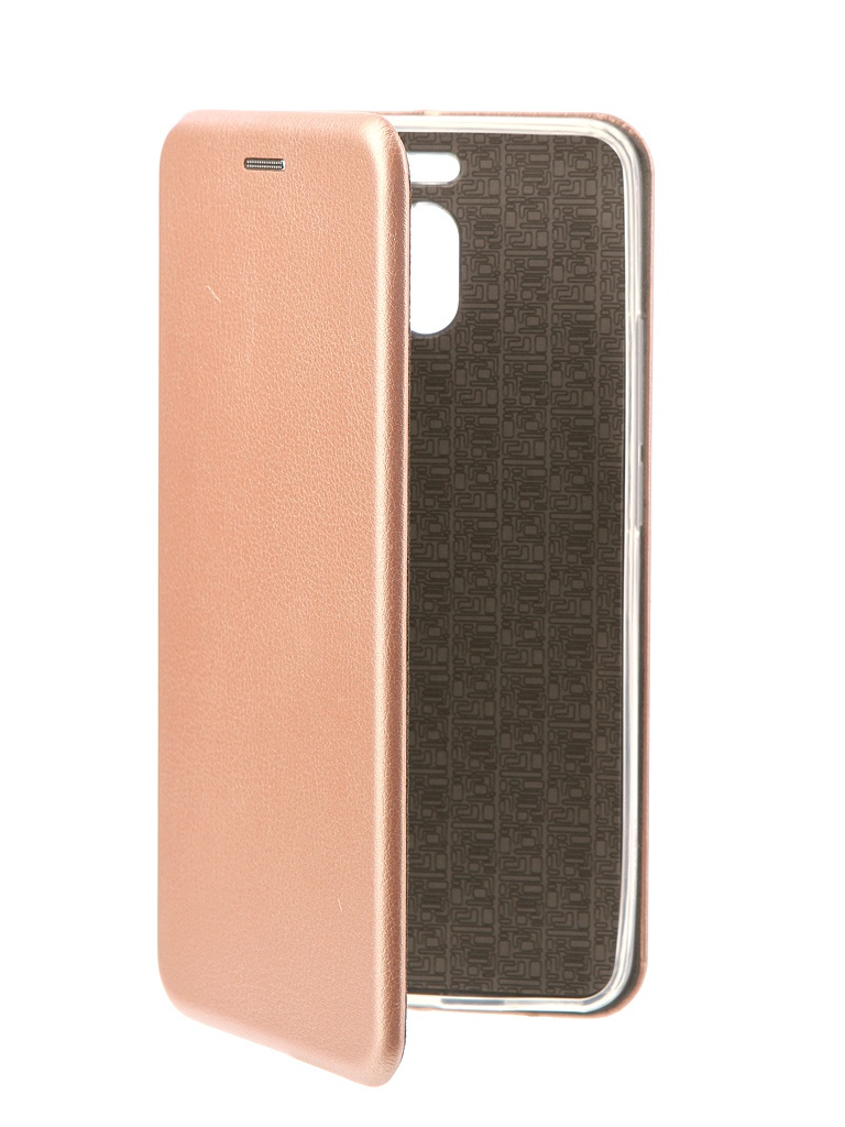 Чехол-книга Innovation для Meizu M6 Note Book Silicone Rose Gold 11495