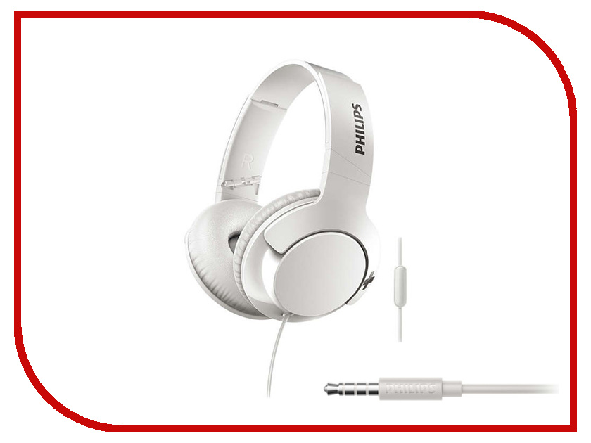 Philips SHL3175 White гарнитура philips she1455 white
