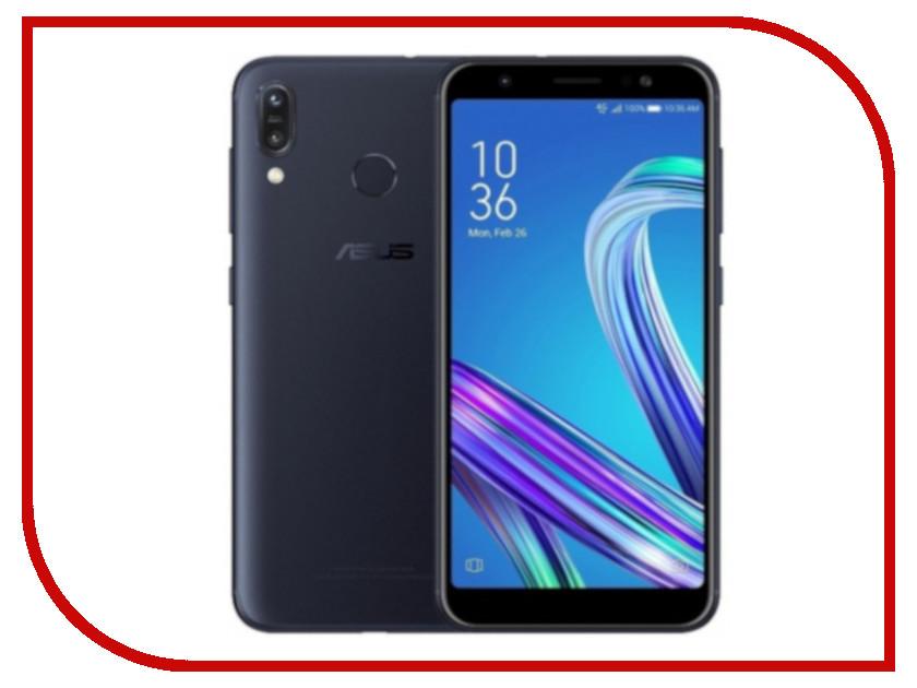 Сотовый телефон ASUS Zenfone Max (M1) ZB555KL 3/32GB Black сотовый телефон asus zenfone 3 ze520kl 32gb black