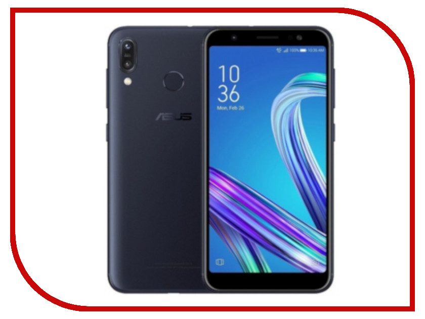 Сотовый телефон ASUS Zenfone Max (M1) ZB555KL 3/32GB Black смартфон asus zenfone zoom 3 ze553kl 64gb