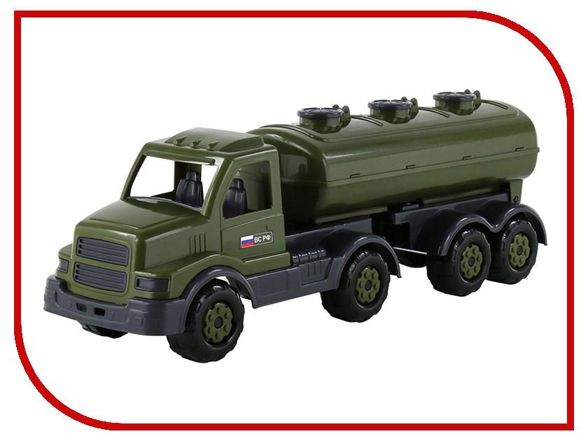 Игрушка Полесье Автомобиль военный с полуприцепом-цистерной Сталкер 48660 полесье автомобиль с цистерной мой первый грузовик 5441
