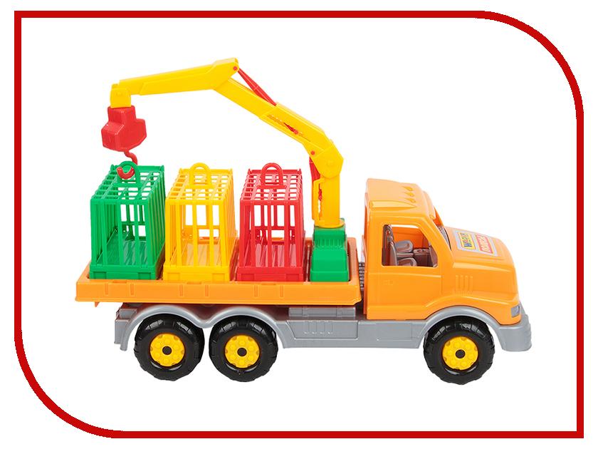 Игрушка Полесье Автомобиль для перевозки зверей Сталкер 44303 конструктор bela автомобиль для перевозки заключённых 60043 10418