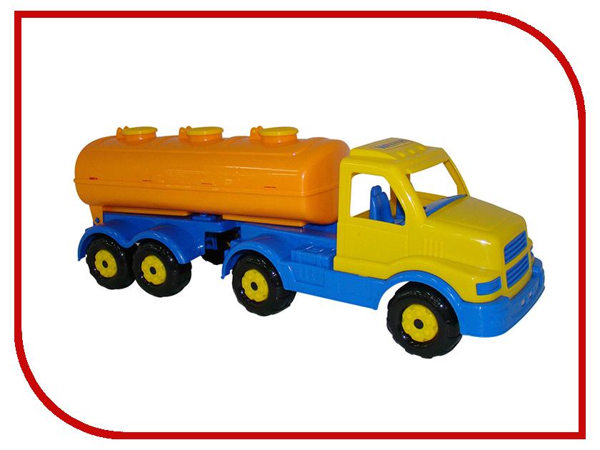 Игрушка Полесье Автомобиль с полуприцепом-цистерной Сталкер 44334 полесье автомобиль с цистерной мой первый грузовик 5441
