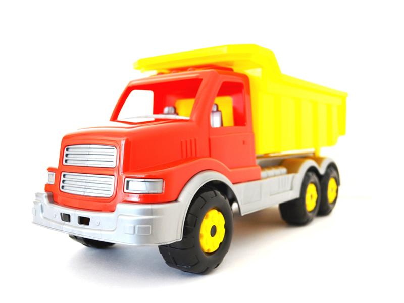 Игрушка Полесье Wader Автомобиль-самосвал Сталкер 44310 автомобиль самосвал констрак полесье экскаватор колёсный в коробке 40855