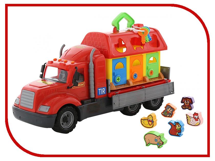Игрушка Полесье Майк 55521 полесье грузовик бортовой майк домик для зверей 55521