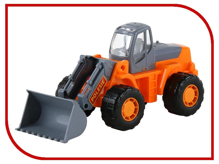 Игрушка Полесье Трактор-погрузчик Умелец 35400 полесье трактор погрузчик в сеточке