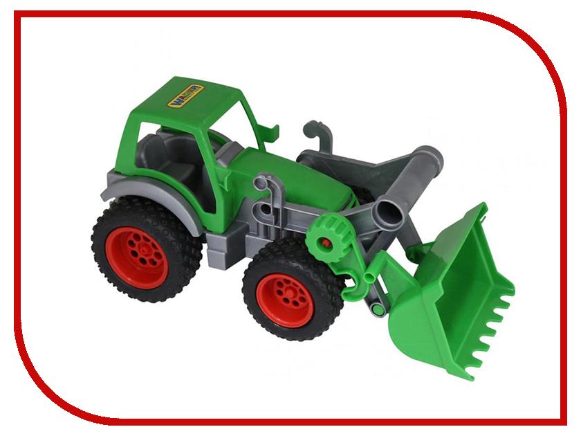 Игрушка Полесье Трактор-погрузчик Фермер-техник 37787 машины полесье мастер трактор экскаватор военный