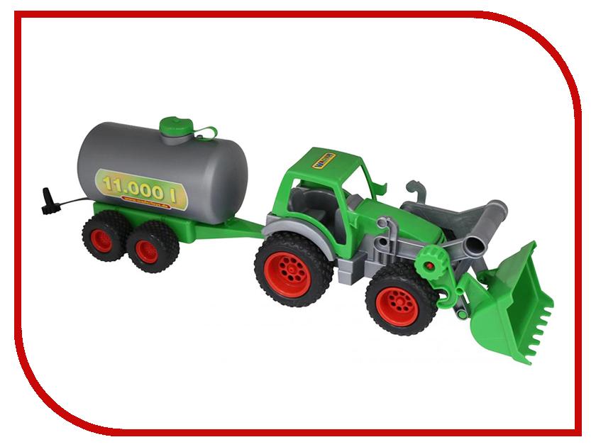 Игрушка Полесье Трактор-погрузчик с цистерной Фермер-техник 37763 eichhorn вагон с цистерной